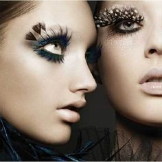 Beauty Spotting: Crazy False Eyelashes #lulusholiday