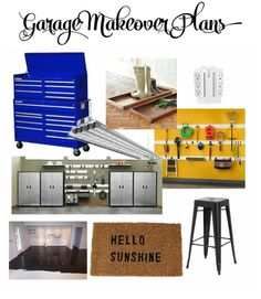 My plans for this fall's One Room Challenge - my garage makeover!