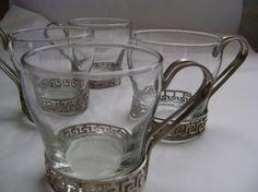 glass tea mugs or cups