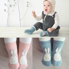 New!! 2017 Spring/Autumn Baby Cartoon Star Cotton Socks Boys Girls Newborn Infant Toddler Anti-slip Floor Wear Quality Assurance