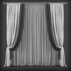 Curtains126 3D model