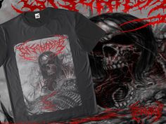 t-shirt cover band / Disentomb