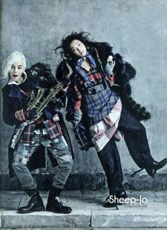 Sung Hee & G-Dragon Go 'Street to Street', Lensed By Kim Bo Sung For Vogue Korea August2013 - 10 Fashion Mavericks, Our Planet & Human Values - Anne of Carversville Women's News