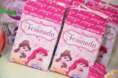 Caixa milk princesas