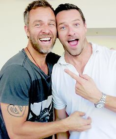 Teen Wolf ~ JR Bourne and Ian Bohen                                                                                                                                                     More