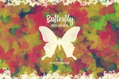Butterfly Brushes For Photoshop  @creativework247