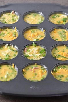 Simple ham and cheese egg muffins are an easy and healthy breakfast and brunch recipe, perfect for busy mornings or make ahead freezer meals and snacks. Breakfast Appetizers, Breakfast Cupcakes, Healthy Appetizers, Breakfast Egg Muffins, Simple Appetizers, Appetizer Ideas, Super Healthy Recipes, Healthy Foods To Eat, Healthy Eating