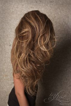 light brown hair with balayage highlights - Google Search