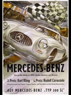 Mercedes-Benz classic posters