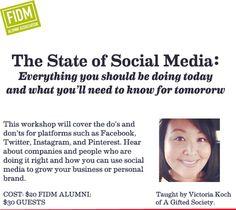 #FIDM Alumni Association Hosts 'State of Social Media' Workshop