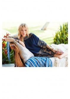 Niobe Embroidered Silk Dress