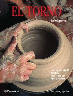 This book is a wide-ranging synthesis of all the processes involved in pottery, focusing particularly on its most artistic aspects. It offers an extensive chapter devoted to glazes and enamels to be used at both low and high temperature, and among th. Wheel Throwing, The Potter's Wheel, Healthy Juices, Clay Dolls, Recycled Furniture, Design Crafts, Ceramic Pottery, Arts And Crafts, Creative
