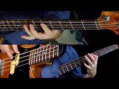 Easy Pentatonic Riffs - Bass Guitar Lesson - YouTube