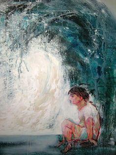 Cambio de estación 100 cm x 80 cm Acrílico-Lienzo 2012 3.000€  #arte #art #artecubano #cubanart #galerías #galleries #pintura #painting #EdelBordon Cuban Art, Painting, Gallery, Floating Island, Pintura, Canvases, Islands, Naturaleza, Roof Rack