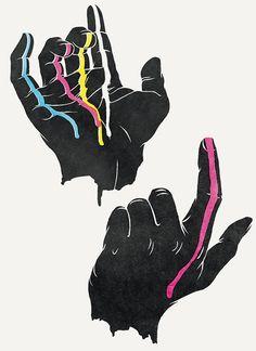 Hands on Illustration Served