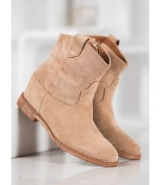 Bella Paris women's cowboy boots have a pleasant to the touch upper, which is made of ecological suede leather. These shoes have internal insulation, making them suitable even on Heeled Boots, Shoe Boots, Shoes, Paris Green, Winter Heels, Types Of Heels, Cowboy Boots Women, Suede Leather, Wedges