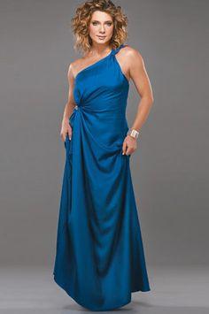 molde de costura gratis vestido fiesta largo asimétrico