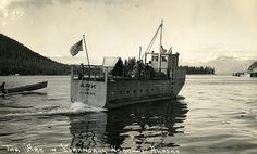 Ark of Juneau at Petersburg, Alaska 1940