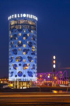 Fletcher Hotel, Amsterdam #architecture #arquitectura