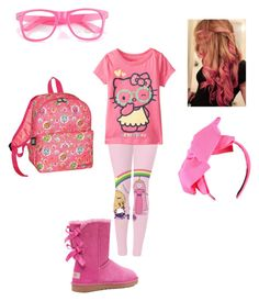 """""""Untitled #73"""" by batgirl-natasja on Polyvore featuring Hello Kitty, Victoria's Secret and David & Goliath"""