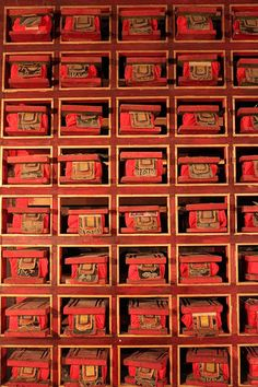 Monastery prayer books TIBET. Tibet is a different nation of China. Tibet is not a part of China but a country.