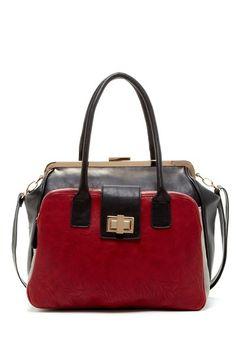 Segolene Colorblock Satchel by Bag Boutique on @HauteLook