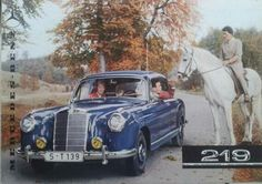 Mercedes Benz 219 brochure