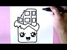 Comment dessiner une GLACE KAWAII - DESSIN KAWAII ET FACILE - YouTube