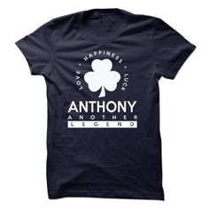 St Patrick Day ANTHONY T-Shirts, Hoodies. CHECK PRICE ==► https://www.sunfrog.com/Birth-Years/St-Patrick-Day--ANTHONY.html?id=41382