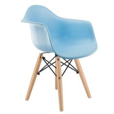 DAW Blue Chair For Kids  #blue #FurnitureArmChairsReclinersSleeperChairs #ChairsRecliners #FurnitureKidsFurniture #FurnitureChairs #FurnitureKidsSeating #kids #furniture #MqFurniture #KidsChairs #Under100 #seating #wooden #plastic