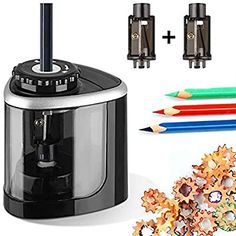 Alexa Compatible Devices, Electric Pencil Sharpener, Unique Heels, Mens Diamond Wedding Bands, Portable Battery, School Classroom, Battery Operated, High Speed, Girls Dresses