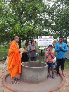 Bill Pratt and Phyllis Underwood - Well Donation Cambodia