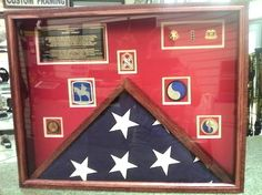 We provide military award display cases, shadowboxes, flag display cases and coin displays. Also known as a shadowbox, defines as a snapshot of a given time period in someone's life that should never go unrecognized. By making a beautiful display case and showing a career of accomplishments, you not only show everyone what this awesome person did, you also remind that special person just what they have accomplished. Don't let this once in a lifetime opportunity pass you by.