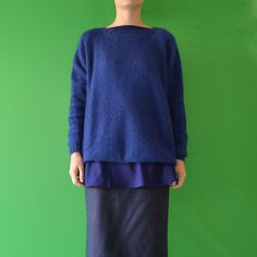 Daniela Gregis hand knitted round neck sweater
