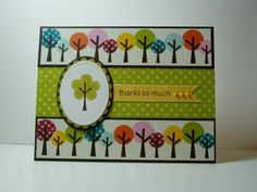 Stampin' Up Trendy Trees  Retiring