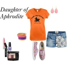 """Camp Halfblood: Daughter of Aphrodite"" by olsen-m on Polyvore"