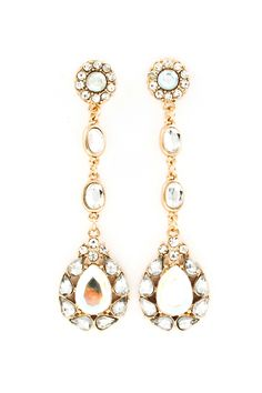 Crystal Eva Earrings | Awesome Selection of Chic Fashion Jewelry | Emma Stine Limited