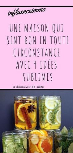 9 idées créatives pour que toute la maison sente bon - How To Clean Clams? Green Cleaning, House Cleaning Tips, Diy Cleaning Products, Cleaning Hacks, Diy Cleaners, Cleaners Homemade, Diy Organisation, Sent Bon, Flylady