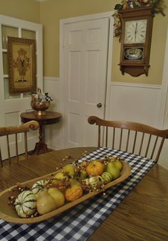 A Country Dining Room