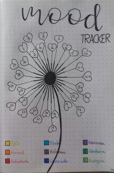 Mood tracker junio. #BulletJournal #BulletJournalIdeas #Inspiration