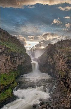 White river falls, oregon beautiful waterfalls, beautiful scenery, beautiful landscapes, beautiful world Beautiful Waterfalls, Beautiful Landscapes, Places To Travel, Places To See, Places Around The World, Around The Worlds, Les Cascades, Belle Photo, The Great Outdoors