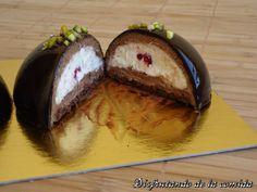 Semiesferas de Chocolate - Disfrutando de la comida