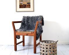 Genuine Gotland Sheepskin Throw no. Small Sheds, Sheepskin Throw, Beautiful, Summer, Design, House, Vintage, Etsy, Modern