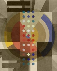 Composition TWO ONE TWO (Bauhaus Series, 2016) - Limited Editions - Big Fat Arts | BFA Gallery | Czar Catstick - 1