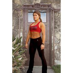 15e3a8a4ba51f We have yoga pants too! (Black label yoga pants and red United pride sports  bra)