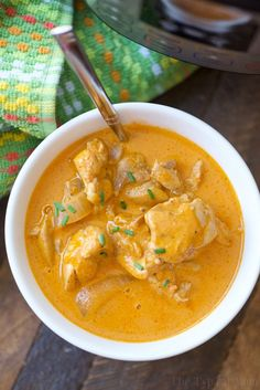 This easy Instant Pot butter chicken recipe is moist and full of flavor. Only taking 5 minutes to cook it's quick and a perfect dinner with a side of naan.