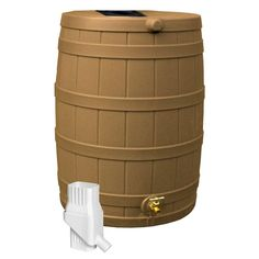 Rain barrels are an excellent product to have around the house. They are even more critical if you are an avid gardener or landscaping enthusiast. With the Rain Wizard 50, you can collect up to 50 Gal. of rain water to use on plants, the yard or any other aquatic application. By saving rain in a Rain Wizard 50, you cut down on standing water, reduce run off and erosion and save money. And when you reuse the water, it decreases the strain on municipalities and sewer systems. The fresh…