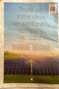 Apple: Hay algunas ideas que queremos que las empresas copien
