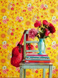 Flowers in the Mix Yellow 313050 - Seinäruusu - Verkkokauppa