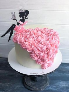 Silhouette Cake, Girl Silhouette, Sitting Girl, Barbie Birthday, 30th Birthday, Birthday Ideas, Salty Cake, Cake Decorating Techniques, Girl Cakes